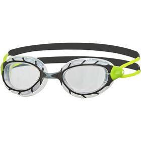 Zoggs Predator Goggles S, black/lime/clear